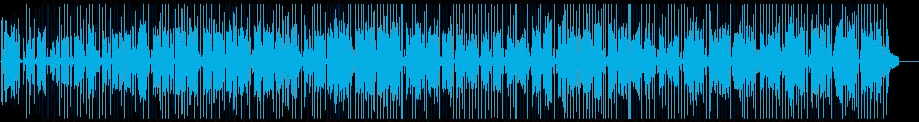 ファンク アンビエント ほのぼの ...の再生済みの波形