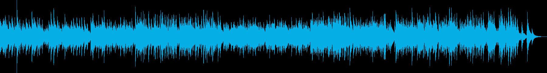 悲しく切ないピアノバラード(後悔・懺悔)の再生済みの波形