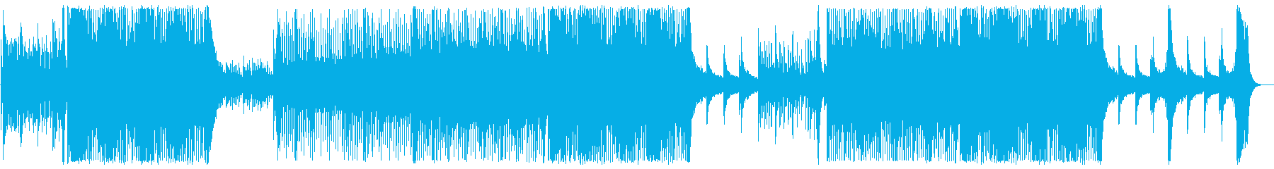 明るいアップテンポなサウンドの再生済みの波形