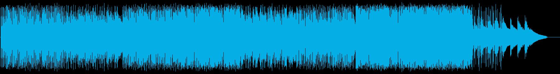 メローでデジタルなシンセバンドサウンドの再生済みの波形