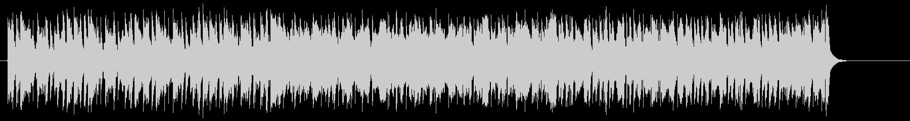 爽快なフュージョンポップ(イントロ~…)の未再生の波形