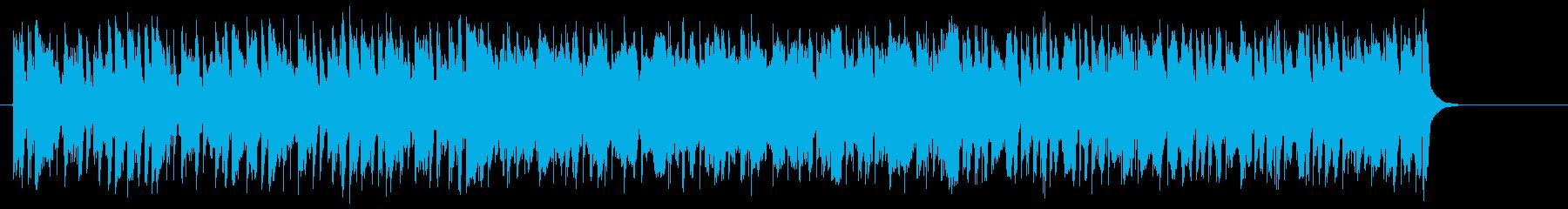 爽快なフュージョンポップ(イントロ~…)の再生済みの波形