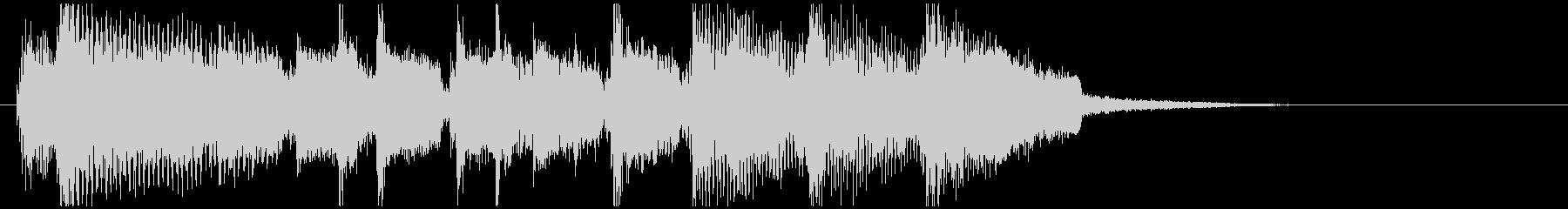 軽快ポップバンドサウンド アイキャッチの未再生の波形