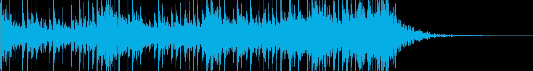 ハリウッド系の和太鼓の再生済みの波形