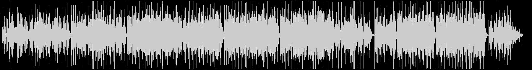 ソロピアノによるバラードBGMの未再生の波形