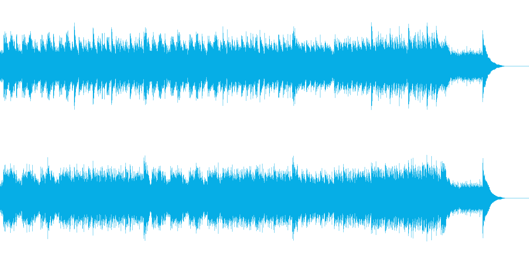 アコースティックセンチメンタル#33-1の再生済みの波形