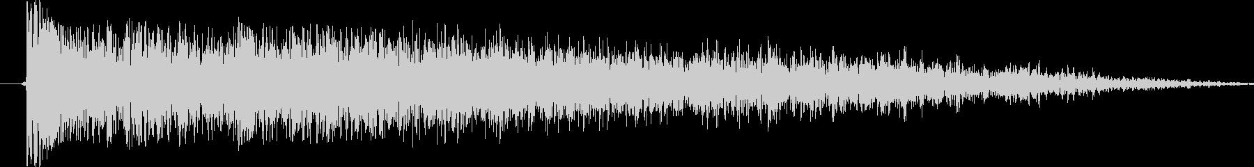例の音が好きで頑張ってみました今の技術…の未再生の波形