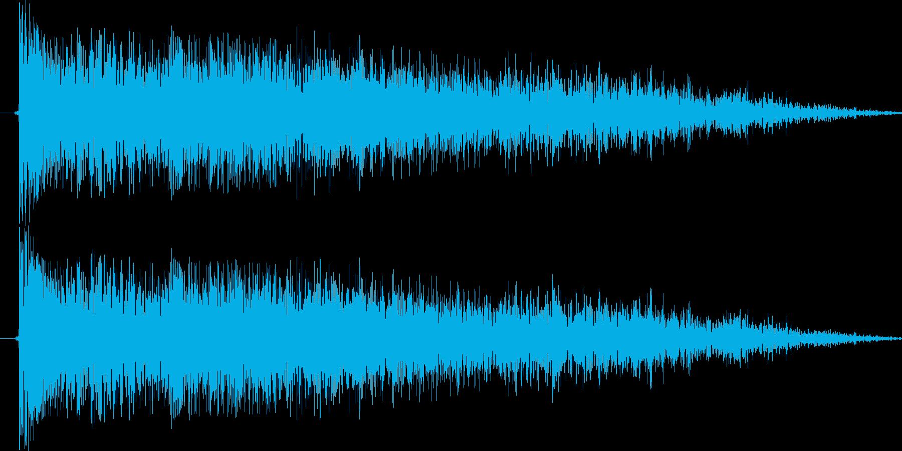 例の音が好きで頑張ってみました今の技術…の再生済みの波形