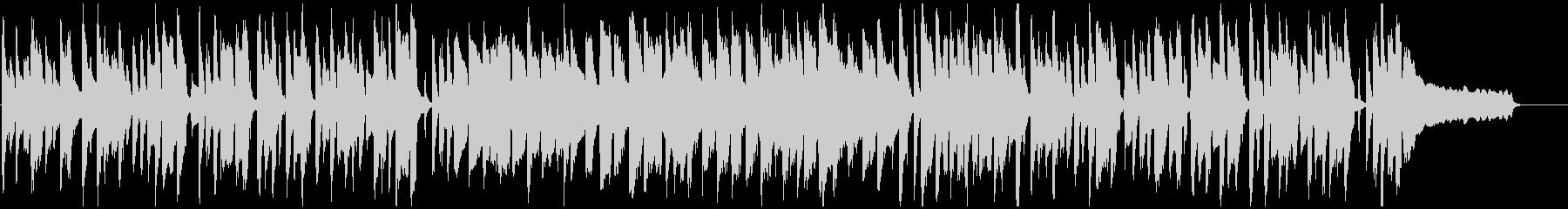 シンプル、素朴、ほのぼの脱力系リコーダーの未再生の波形