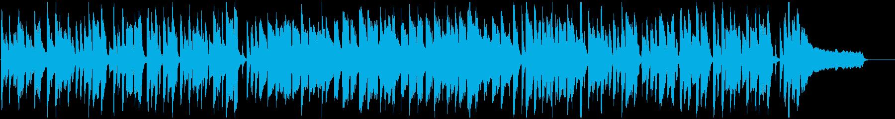 シンプル、素朴、ほのぼの脱力系リコーダーの再生済みの波形