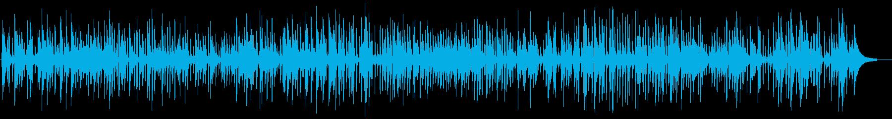 やさしいピアノ中心の生演奏ジャズライブの再生済みの波形