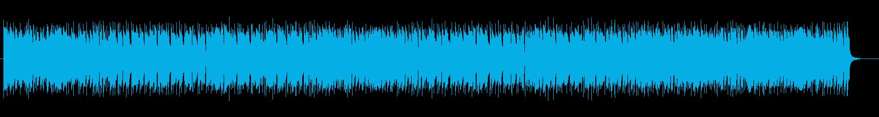 リズミカルなピアノのメロディのポップスの再生済みの波形