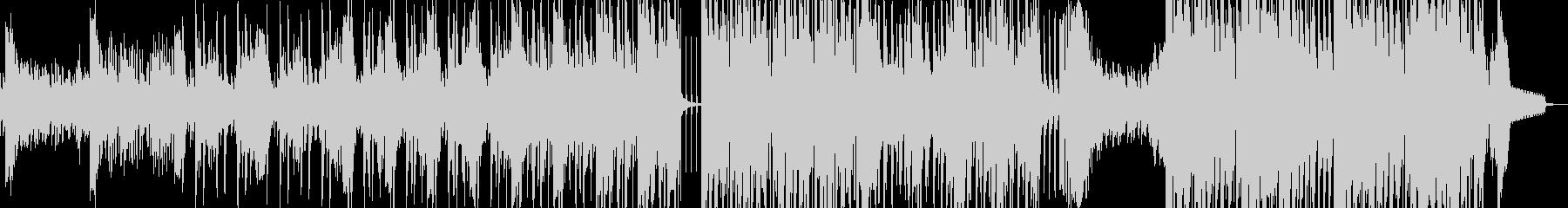 スリラー・民族調ダークヒップホップ 短尺の未再生の波形