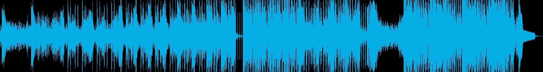 スリラー・民族調ダークヒップホップ 短尺の再生済みの波形