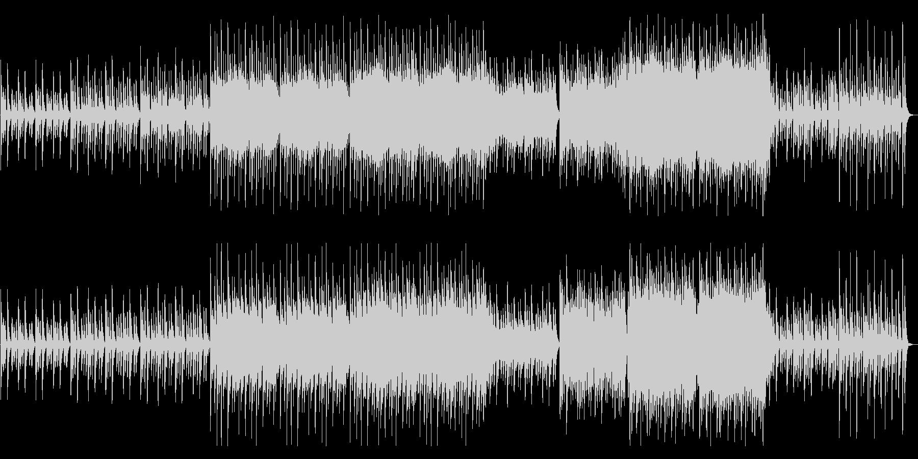 ほのぼのとかわいい映像BGMの未再生の波形