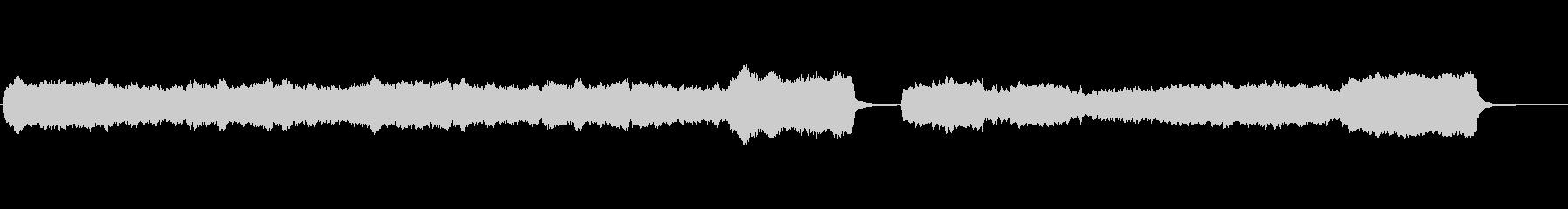 神々しいパイプオルガンのBGMの未再生の波形
