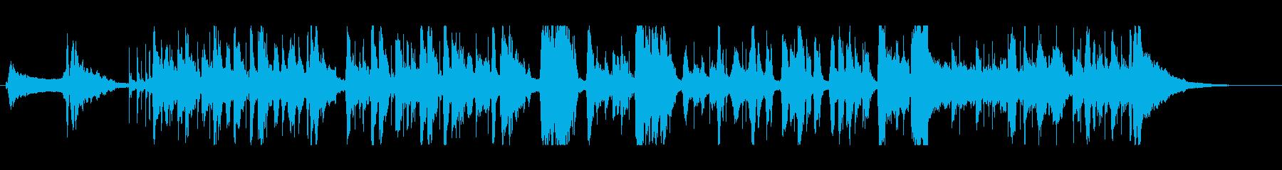 鶏そぼろをテーマにした楽曲の再生済みの波形