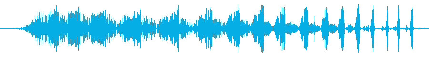 Djレーザースクラッチ、ステレオ、...の再生済みの波形