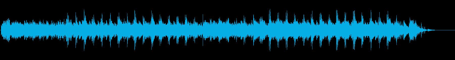 安らぎ・癒し・温かさ・ピアノバラードの再生済みの波形