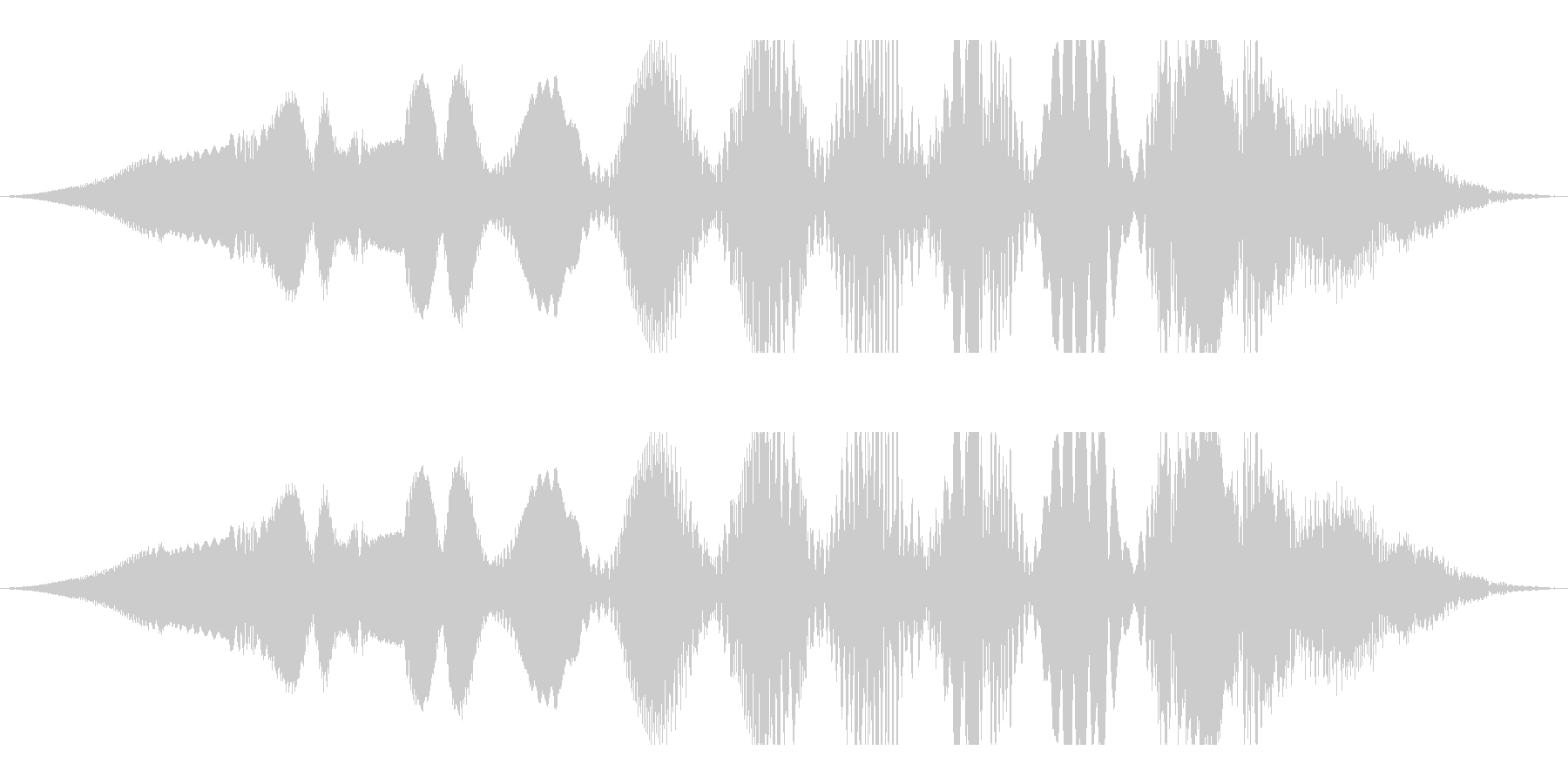 深宇宙の変動する電波干渉の未再生の波形