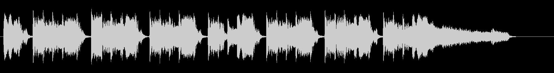 おまぬけぽいBGMの未再生の波形