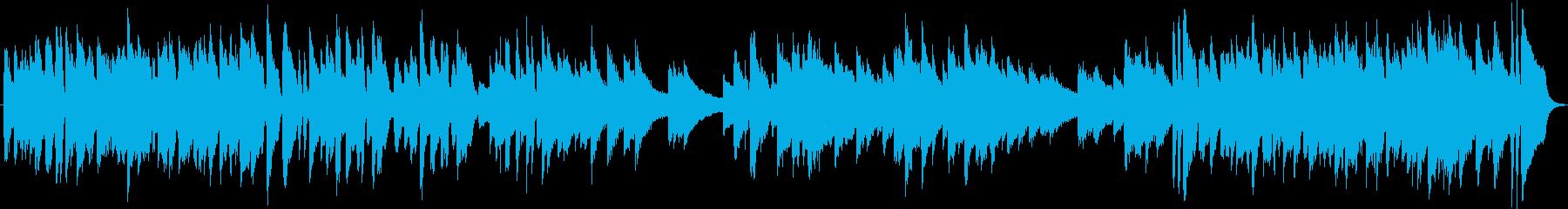 ピアノ生演奏/ポップ・元気・明るい・子供の再生済みの波形