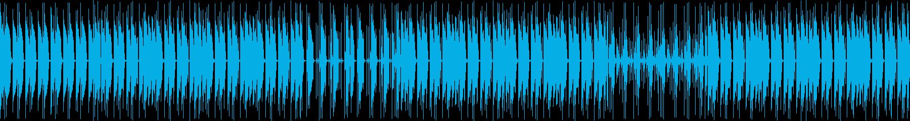 深海を連想させるスローなディープテクノの再生済みの波形