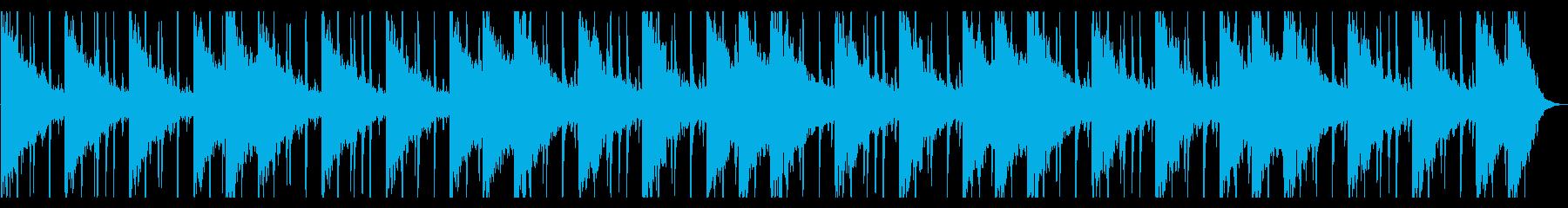 捜索するようなR&B_No616_3の再生済みの波形
