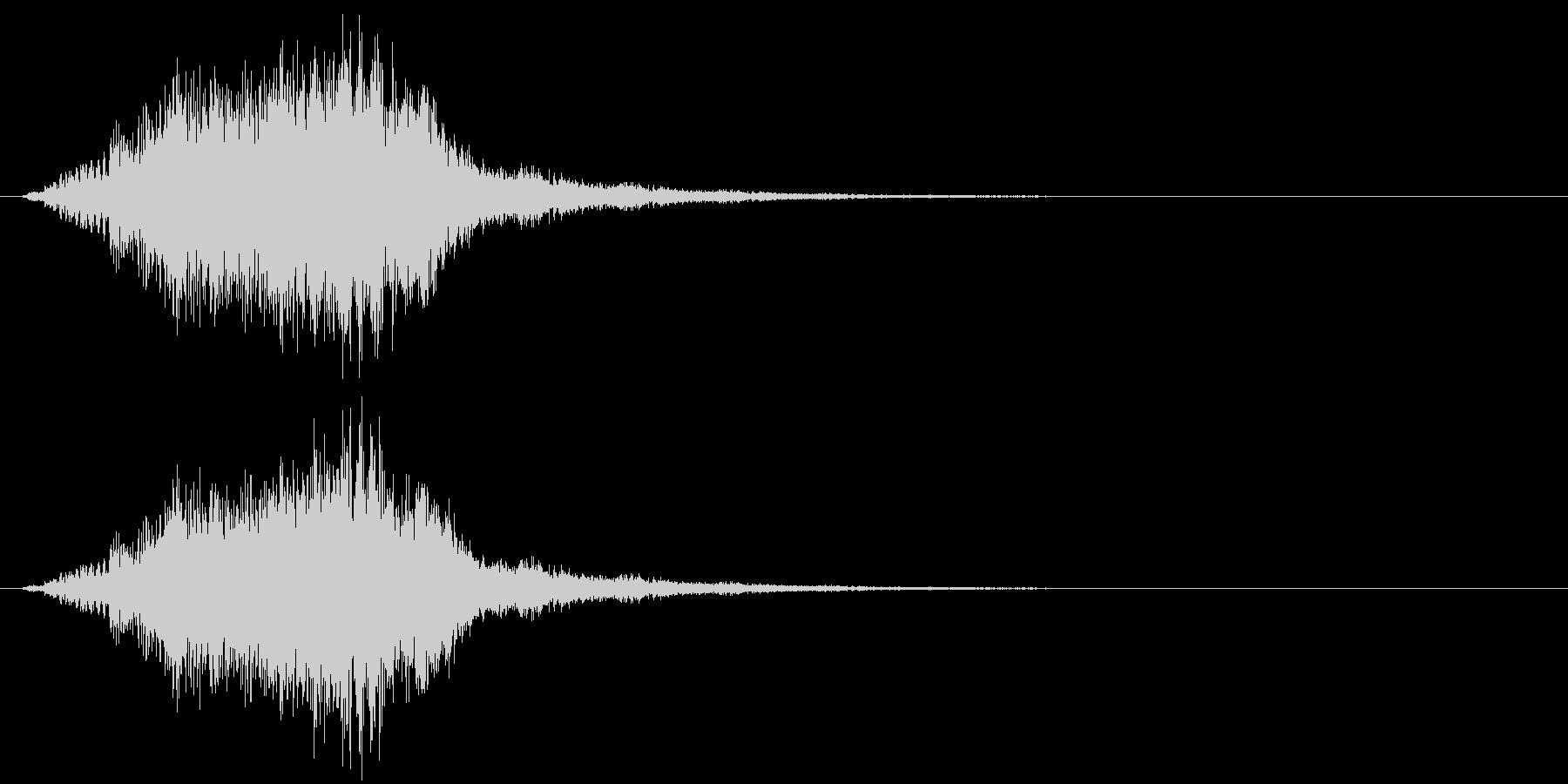 シャラララン!なキラキラ音1の未再生の波形