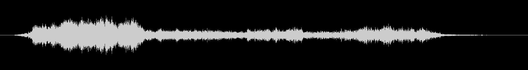 摩擦金属、高音-アグレッシブの未再生の波形