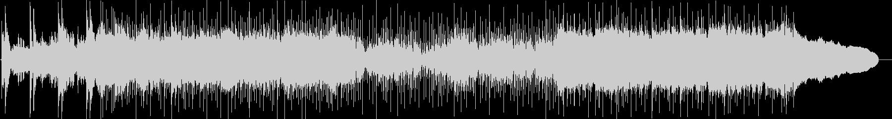 篠笛、琴、三味線、和太鼓のメタルサウンドの未再生の波形