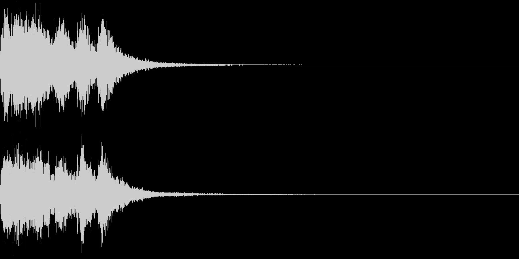 ファンファーレ オーケストラ 豪華 4の未再生の波形