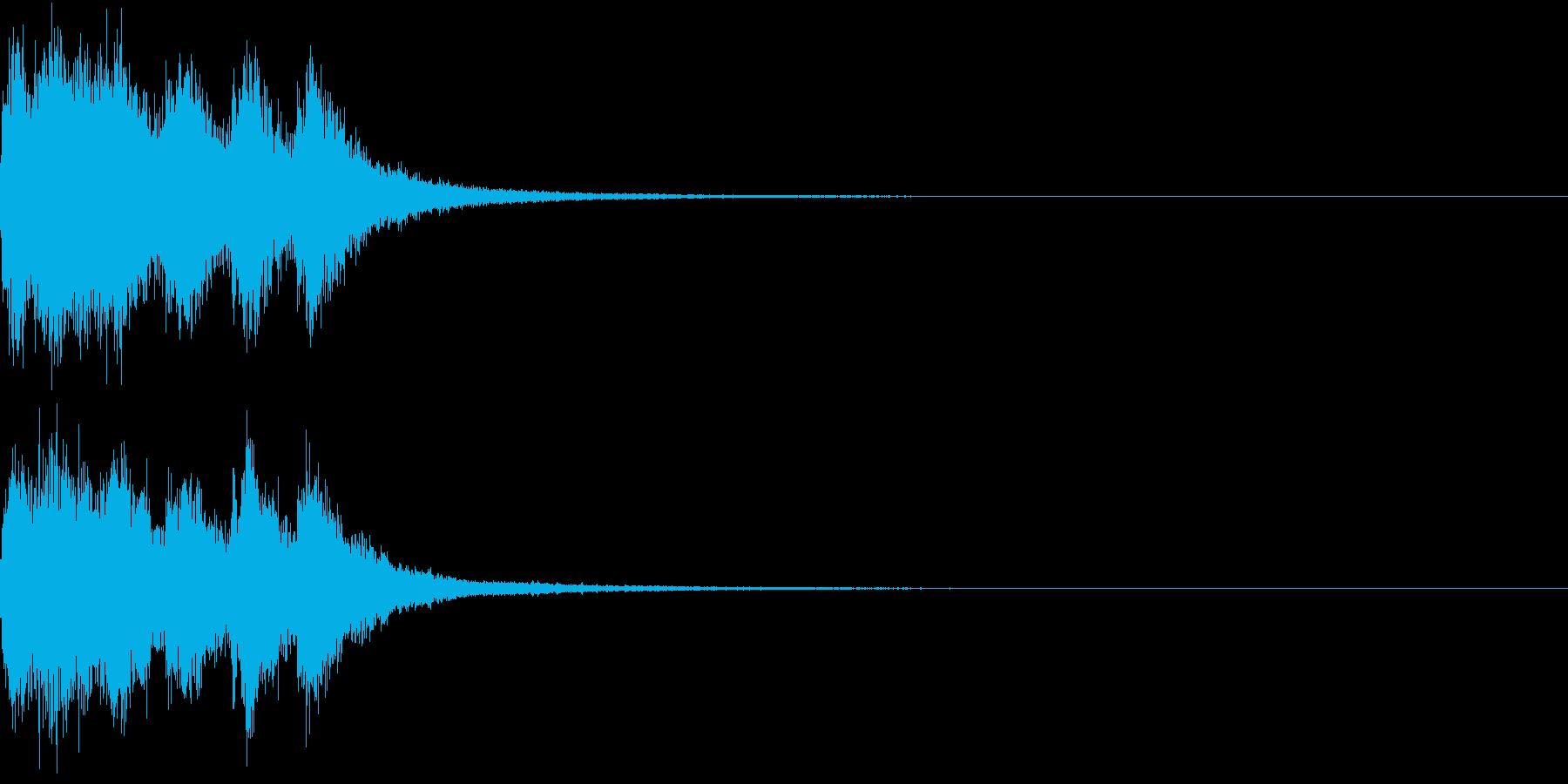 ファンファーレ オーケストラ 豪華 4の再生済みの波形