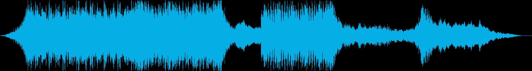 ハリウッド風トレイラー_オーケストラ01の再生済みの波形