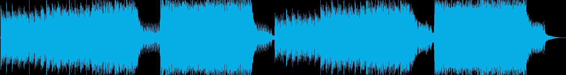 感動的なピアノ CM/企業VP等の再生済みの波形