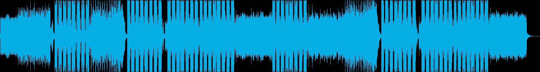 エネルギッシュでパワフルなヒップホップの再生済みの波形