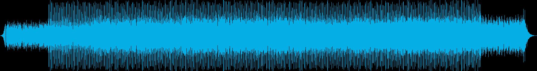 ピアノなしの再生済みの波形
