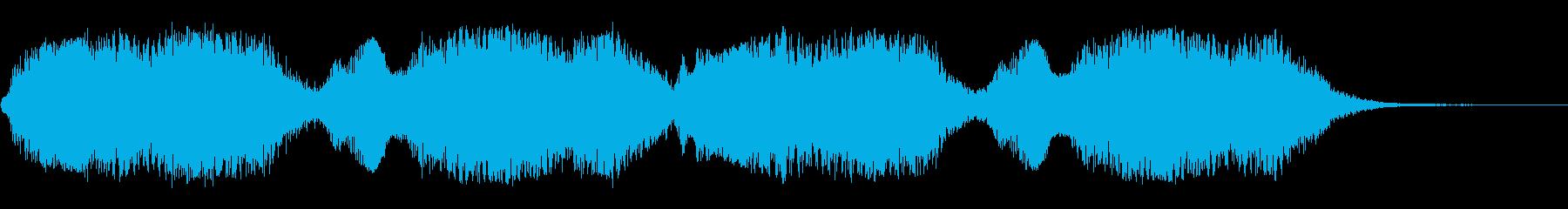 ジュワ〜ン(暗雲、どよめく、異様、魔界)の再生済みの波形