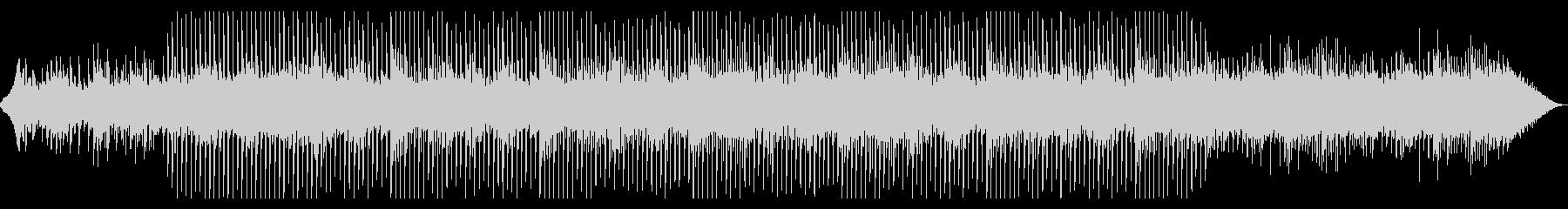 シンプル、さわやかで印象的なメロディの未再生の波形