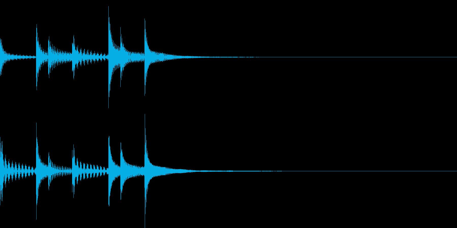 SF宇宙ぽいテクノな効果音/ピンチ/急ぐの再生済みの波形