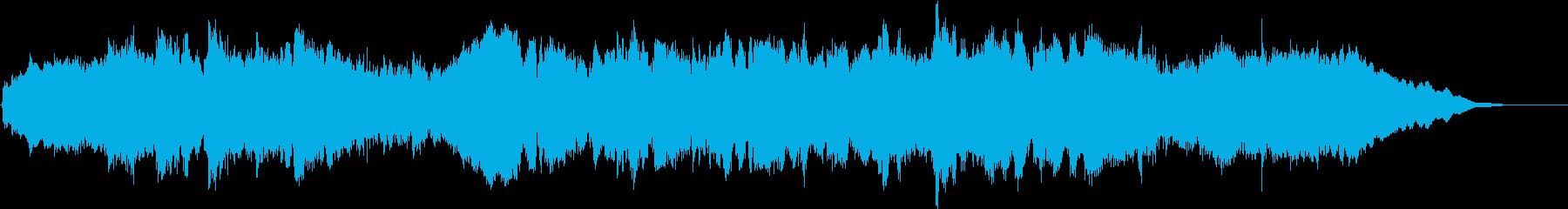 亡き王女のためのパヴァーヌ(冒頭部)の再生済みの波形