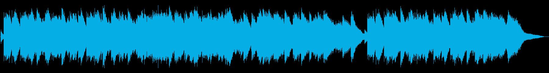 穏やかで切ないメロディー・ハープソロの再生済みの波形
