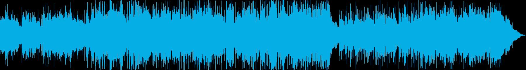 レトロなスタイルのカントリーサウンドの再生済みの波形