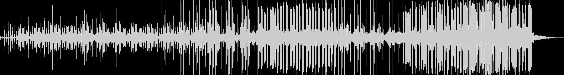 ゆったりとしたチル系の曲の未再生の波形