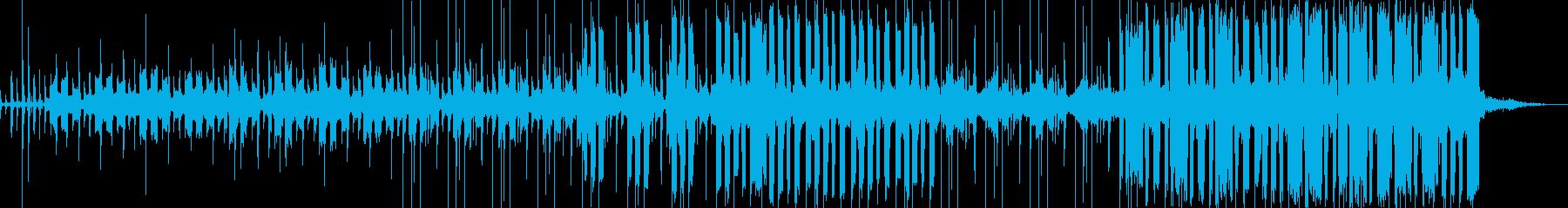 ゆったりとしたチル系の曲の再生済みの波形