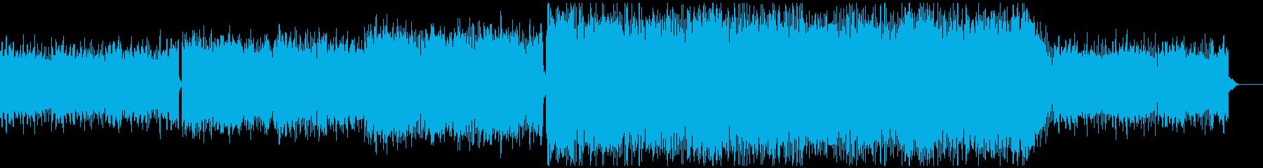 ノンフィクションに合う電子音楽の再生済みの波形