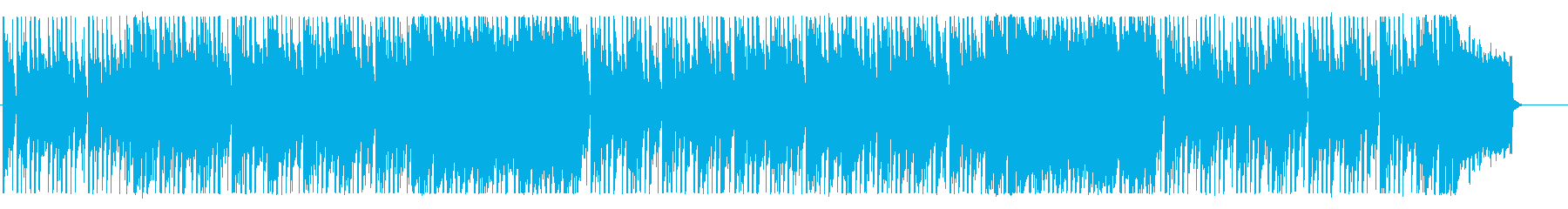 Pop and cool background music's reproduced waveform