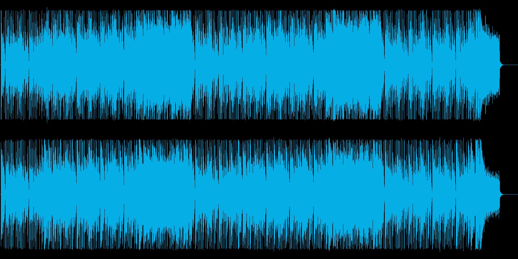 ポップでクールなBGMの再生済みの波形