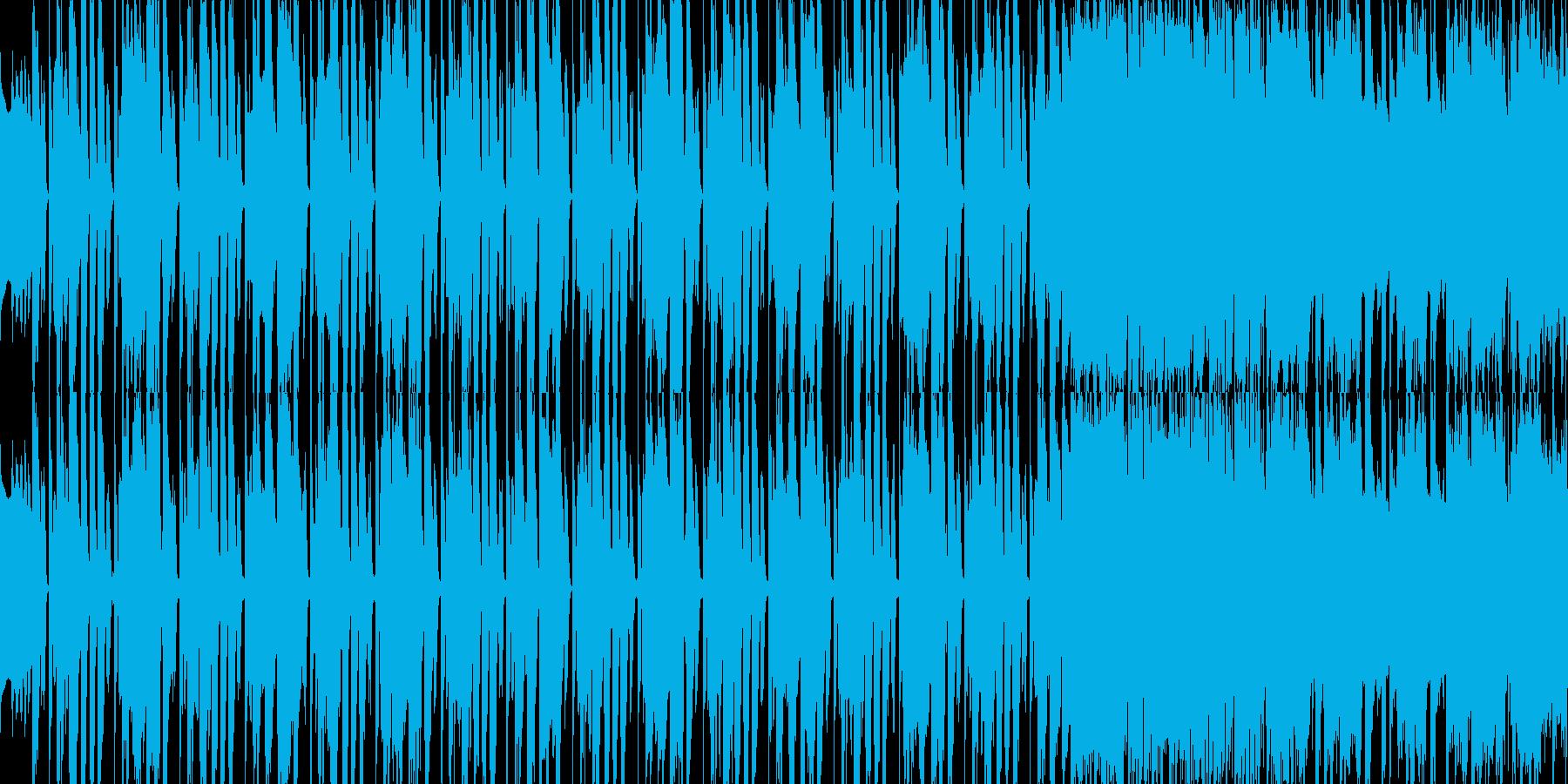 陽気でほのぼのとした日常のインストの再生済みの波形
