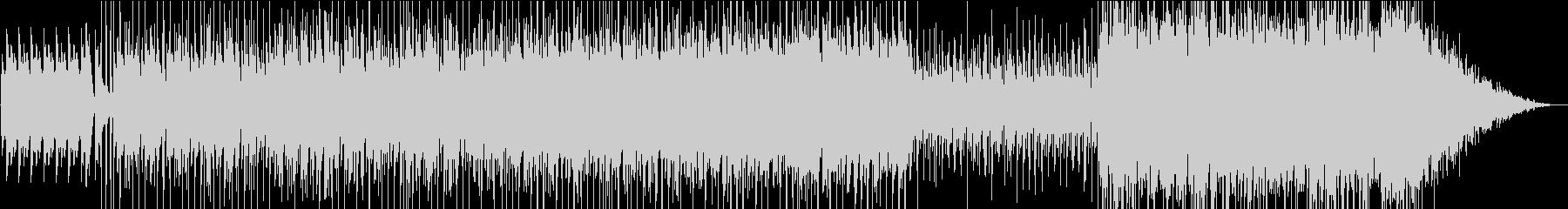 ラテン系のポップスの未再生の波形